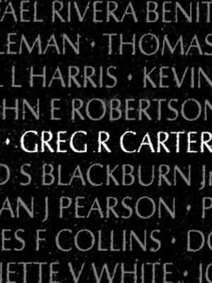 Greg Roy Carter