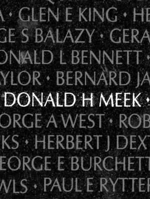 Donald Howard Meek