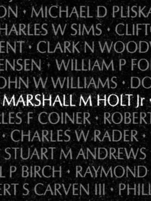 Marshall Myron Holt Jr