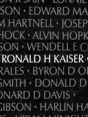 Ronald Harry Kaiser