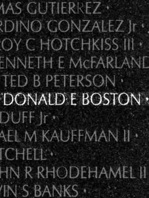 Donald Earl Boston