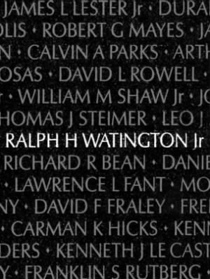 Ralph H Watington Jr