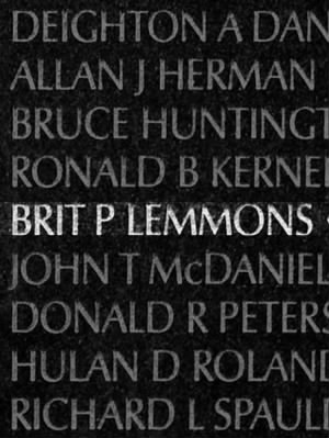 Brit P Lemmons
