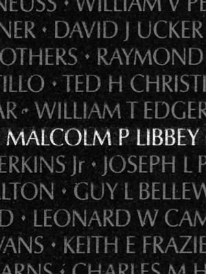 Malcolm Pierce Libbey
