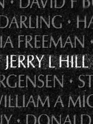 Jerry L Hill