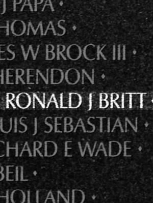 Ronald Jerome Britt