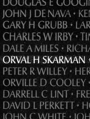 Orval Harry Skarman