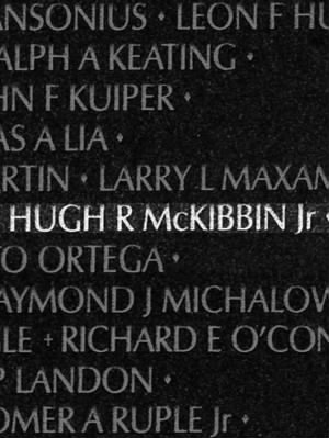 Hugh R McKibbin Jr