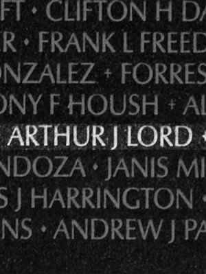 Arthur James Lord