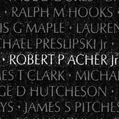 ROBERT P. ACHER JR.           ROBERT PAUL ACHER JR.