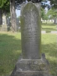 Headstone for Robert Lee Kennedy