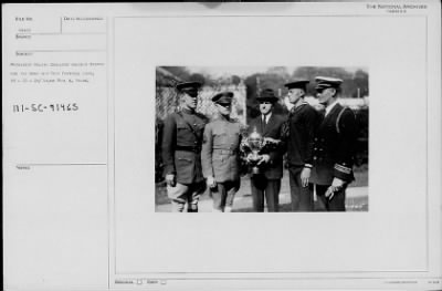 President Coolidge holding trophy for Army and Navy football game › Page 2 - Fold3.com