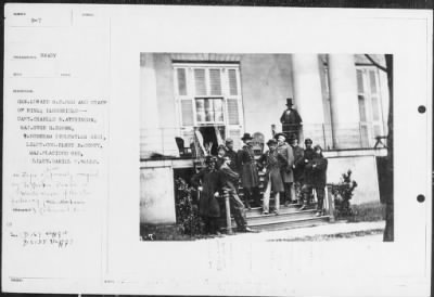 Mathew B Brady Collection of Civil War Photographs › B-7 Gen. Edward O.C. Ord and Staff of Nine; - Fold3.com