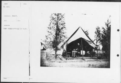 Mathew B Brady Collection of Civil War Photographs › B-217 Camp Scene-Officer in Tent. - Fold3.com