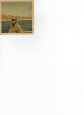 LCPL Earnest Floyd Petty on Ship Heading for Vietnam