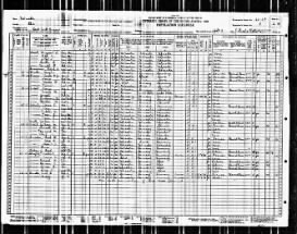 1930 US Federal Census.  She was 15 at the time.