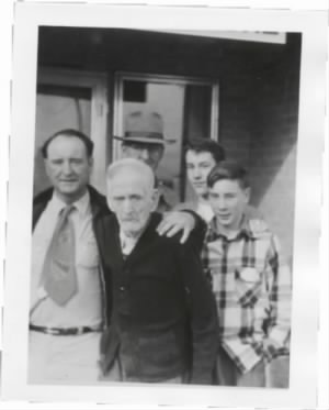 Four Generation Hancock Men 1954