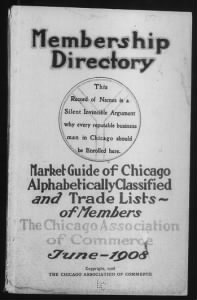 City Directories - Chicago